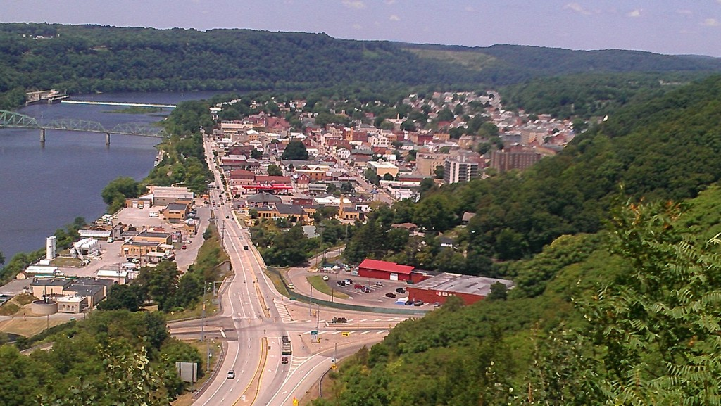 Looking North Towards Kittanning